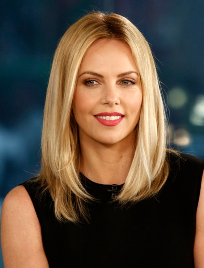 TODAY -- Pictured: Charlize Theron appears on NBC News'
